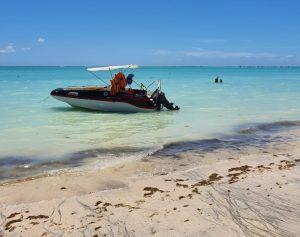 Praia de Barra Grande em Maragogi Alagoas