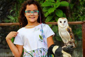 Interação com os animais Eco Park Sol e Mar