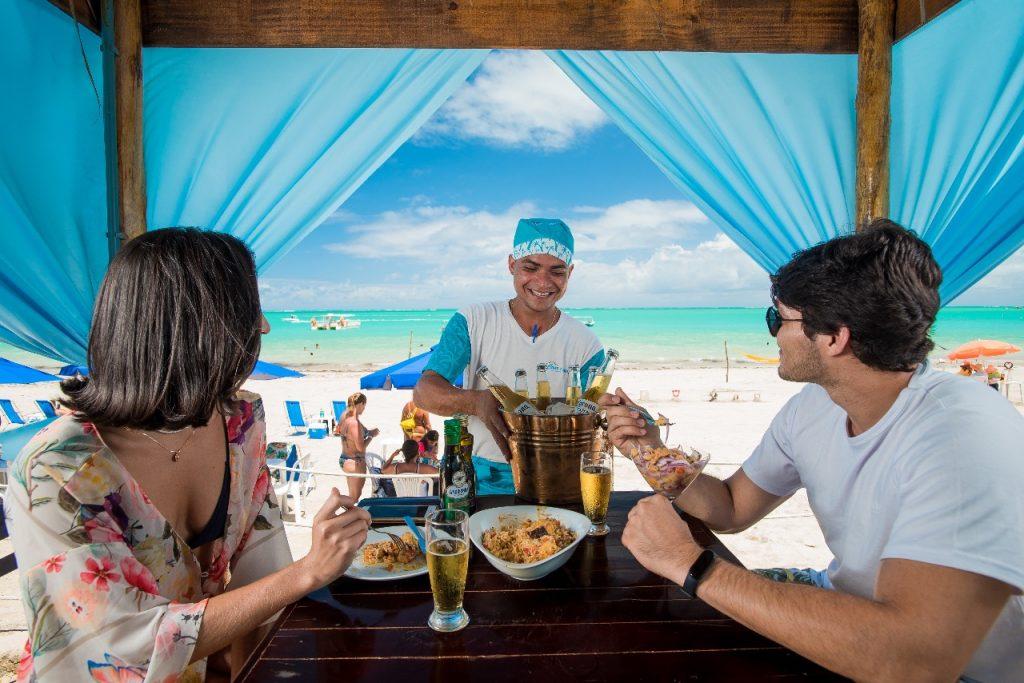 Onde comer na Praia de Barra Grande? Restaurante Casa da Praia Maragogi